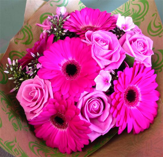 The Pink Girly Bouquet
